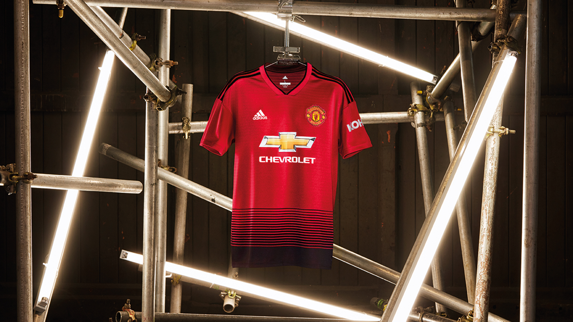 2630bc0dfc7 SINGAPORE, 17 JULY 2018 –adidasFootball has today revealed the Manchester  United home kit for the 2018/19 season. The latest jersey marks 140 years  since ...