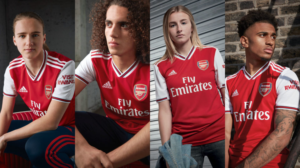 5f212c799 ADIDAS AND ARSENAL LAUNCH NEW PARTNERSHIP WITH 2019/20 HOME KIT